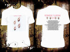 White T Shirt Kings of Leon TOUR DATES 2017 white R107 Many Size Available