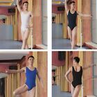 4colors Man Men Boy Ballet Dance Leotard Jumpsuit Gymnastics Training Tank 6 SZs
