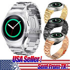 US Stainless Steel Watch Band+Connectors for Samsung Galaxy Gear S2 SM-R720&R730