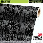 DIGITAL MIDNIGHT Camouflage Vinyl Car Wrap Camo Film Decal Sheet Roll Adhesive