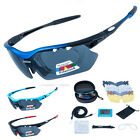 SAHOO Polarized Cycling Glasses Eyewear Bike Goggles Fishing Sunglasses 5lens