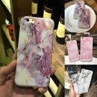 Slim Retro Granite Marble Pattern Soft Tpu Phone Case Cover For Iphone 8 6s Plus