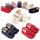 Newborn Baby Girl Tassel Soft Sole Prewalker Toddler Infant Moccasin Shoes