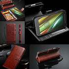 """Rich Leather Luxury Wallet Flip Book Case Cover For Motorola Moto G4 Play(5.0"""")"""