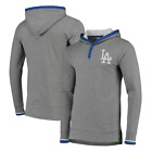 Los Angeles Dodgers Mitchell & Ness Men's Seal the Win Hooded Long Sleeve - Gray on Ebay