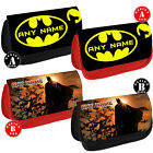 BATMAN Personalised Pencil Case Make Up DS bag Shool DC Comics Any Name Gift New