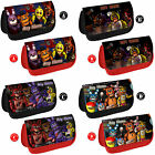 FNAF Five Nights at Freddy's Personalised Pencil Case Make Up Bag School Gift