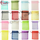 LUXURY Organza Gift Bags Jewellery Pouches for Wedding, Xmas, Party Candy Favour