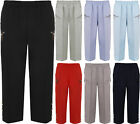 New Plus Womens Zip Button Ladies Short Elasticated 3/4 Cropped Trousers 12-24