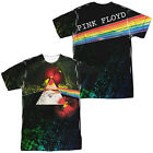 Pink Floyd DARK SIDE OF THE MOON Album Cover 2-Sided All Over Print Poly T-Shirt