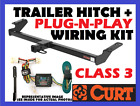 Curt Trailer Hitch & Vehicle Wiring Fits 97-03 Ford F150 97-99 F250 13359 55256
