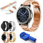 Stainless Steel Clasp Bracelet Watch Band For Samsung Gear S3 Frontier Classic