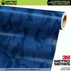 LARGE ELITE BLUE Camouflage Vinyl Car Wrap Camo Film Sheet Roll Adhesive