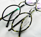 Men women Eyeglass frames metal+acetate diamond shape optical Tortoise/black New