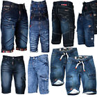 Geographical Norway Herren Bermuda Shorts Jeansshorts lang Jeans Hose knielang