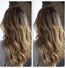 100% 6A Brazilian Remy Human Hair Wigs Long Wavy Ombre Lace Front Full Lace Wig