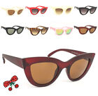 d26d197aef96 Women s Rockabilly Vintage Cat eye Sunglasses Retro 50 s Pin Up Pointy Tip