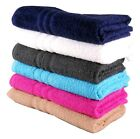 Cheap Budget Matching Hand and Bath Towels Set Pack 360gsm 100% Cotton 6 Colours
