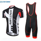 XINTOWN Mens Team Outdoor Cycling Jersey & Bib Shorts Sets Bike Sports Wear Kits