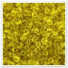 20g - 100g Transparent Yellow Seed beads Size 8/0. 10
