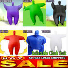 Charms Fan Operated Inflatable Fancy Chub Fat Masked Suit Costume Blow Up Dress