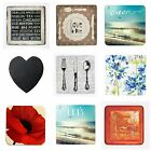 Inspire 4Pc Sets Placemats Coasters Dinner Table Dining 10 Variations Available