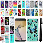 For Samsung Galaxy On7/ On Nxt/ J7 Prime G610 TPU SILICONE Soft Case Cover + Pen