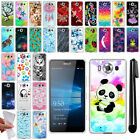 "For Microsoft Nokia Lumia 950 5.2"" TPU SILICONE Soft Protective Case Cover + Pen"
