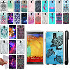For Samsung Galaxy Note 3 N9005 N9000 TPU SILICONE Protective Case Cover + Pen