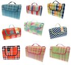 NEW Picnic Blanket Mat Rug Family Beach & Picnic Blanket Outdoor Camping 2 Sizes