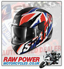 SHARK D-SKWAL UJACK Motorcycle Helmet Red-White-Blue