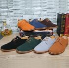Gentle Men's Oxfords Casual Suede European Style Leather Shoes Valentine's Day