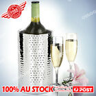 Double Wall Insulated Wine Champagne Cooler Ice Bucket Stainless Steel 2 styel