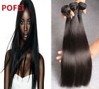 100% Virgin Brazilian Silky Straight Hair Human Hair Bundles 100g 8inch-30inch