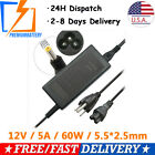 12V 5A 60W AC Power Adapter for iMAX Charger EC6 B5 B6 5.5mm*2.5mm US