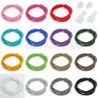 15 Color Elastic Locking Shoelace Shoe Laces Running/Jogging/Sporting New US
