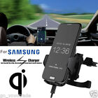 Qi Wireless Car Fast Charger Stand Dashboard Air Vent Mount For Samsung S7 Edge