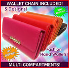 Special Offer Fashion Wallet floral multi pockets retro chain high quality