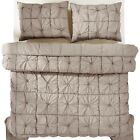 Camille Grey Taupe Bedding Collection, Available in 4 Sizes
