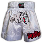 MUAY THAI SHORTS KICK BOXING BULLDOG MMA BOXING SHORTS ADULT KIDS Size XS to 2XL