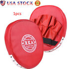US Boxing Strike Pad Mitt Training Focus Target Punch Glove MMA Karate Combat