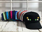 DAISIES Dad Hat Embroidered Low Profile Plant Flower Baseball Caps - Many Colors