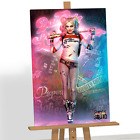 Harley Quinn Suicide Squad Canvas Print Picture DC Marvel Comics Characters A1