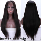 Real Human Hair Silk Top Full Lace Wig Glueless Lace Front Wig for Black Women k