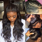 lace front wigs for black hair - Real Human Hair Silk Top Full Lace Wig Glueless Lace Front Wig for Black Women k