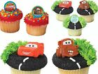 Disney Cars Assortment Cupcake Rings Party Favors Cake Toppers Decorations