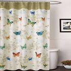 70 x 72 inch waterproof printed canvas fabric Shower Curtain with stylish design