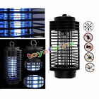 H31 Electric Mosquito Fly Bug Insect Zapper Killer With Trap Lamp Black New