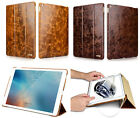 Icarer Oil Wax Genuine Leather Case Stand Smart Cover For iPad Air2/pro12.9/9.7""