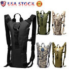 US 3L Hydration Backpack Water Bladder Bag Military Hiking Camping Camelbak Pack